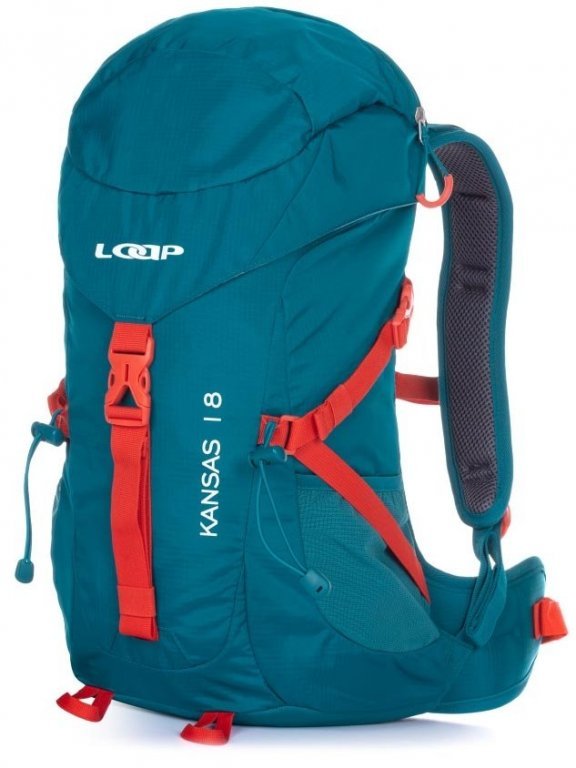 batoh turistický LOAP KANSAS 18 modro/červený