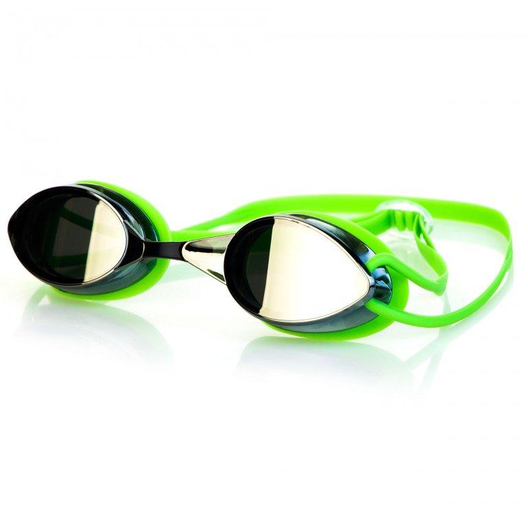 Brýle Spokey SPARKI zrcadlová skla zelené