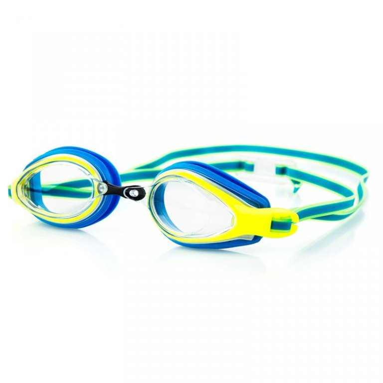 Brýle Spokey KOBRA modro-žluté