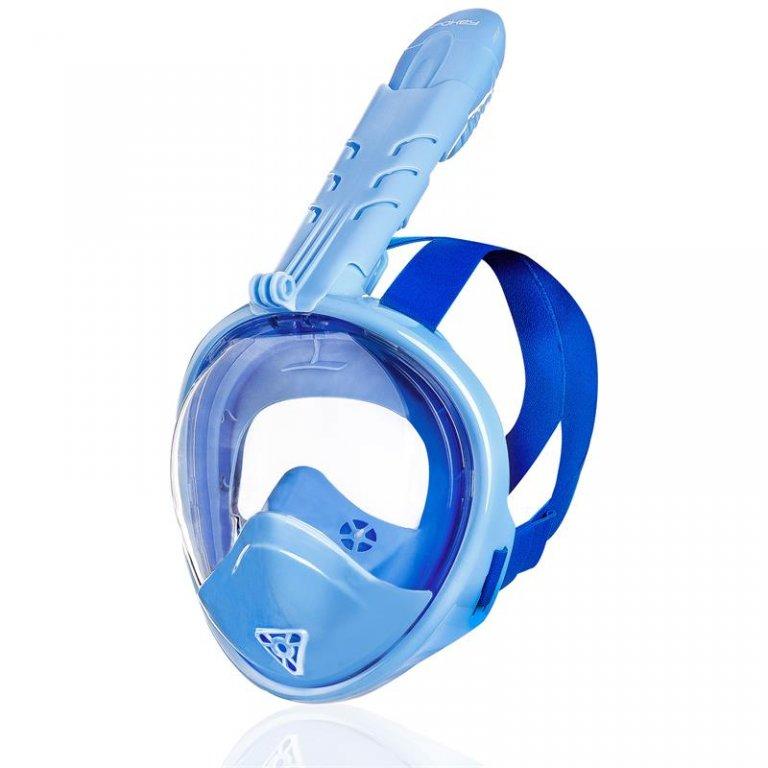 Maska dětská celoobličejová Spokey ZUMI JR modrá