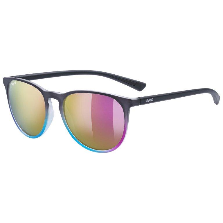 Brýle UVEX LGL 43 multicolor růžové