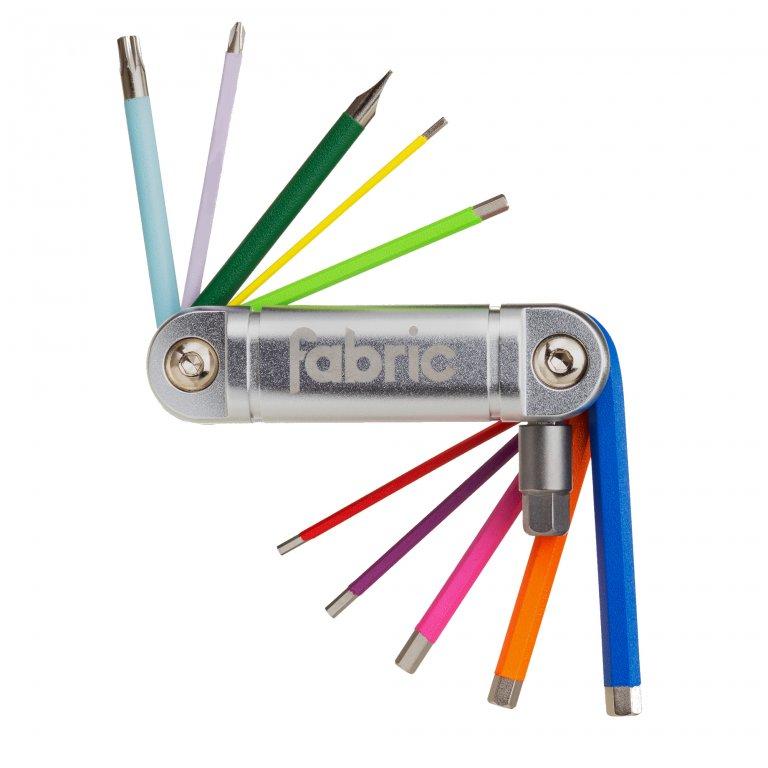 Klíče multi FABRIC 11 IN 1 color