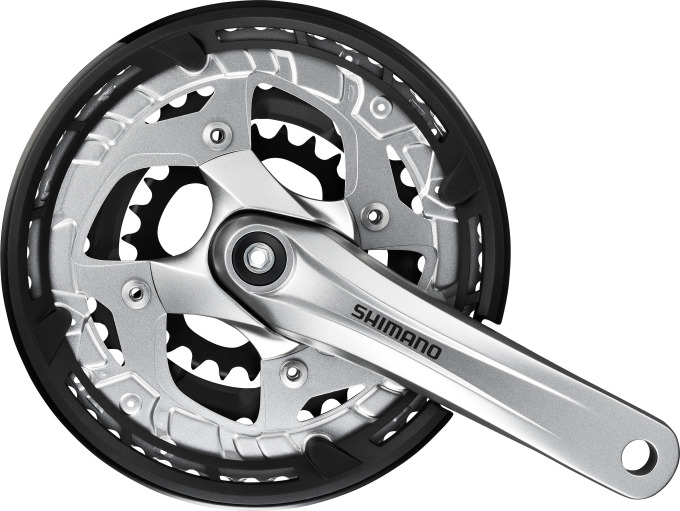 Kliky Shimano Alivio FC-T4010 3x9 48/36/26z 175mm stříbrné AFCT4010E866CS