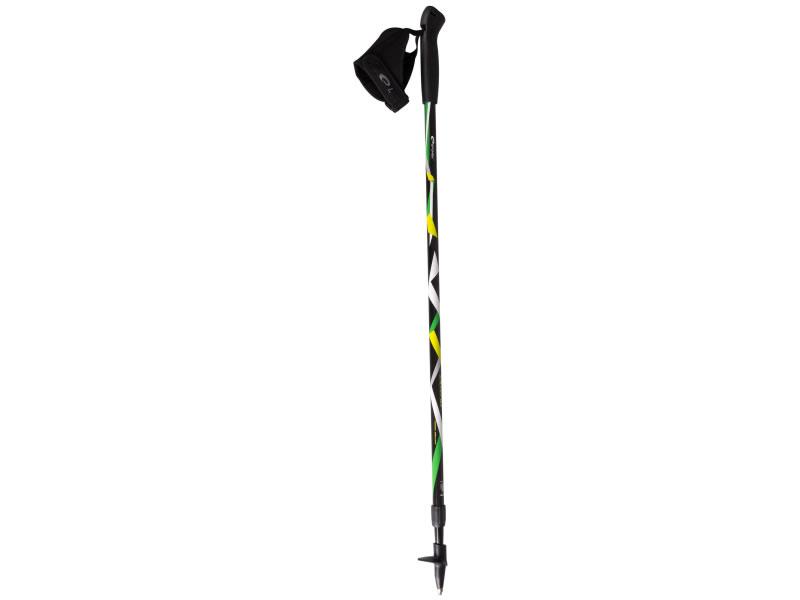 hole Spokey Nordic Walking ZIGZAG černo/barevné