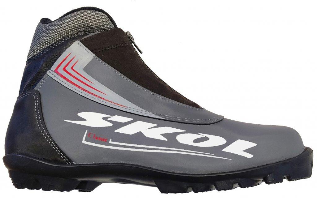 Boty na běžky SKOL RS 508 šedé