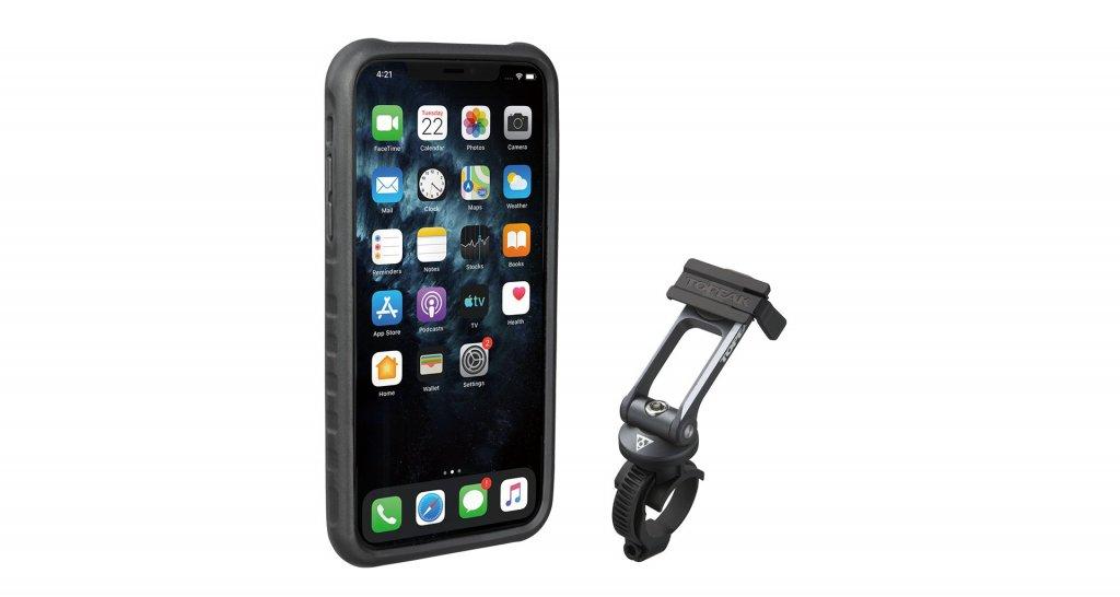 Obal na mobil TOPEAK Ridecase pro iPhone11 Pro Max černo/šedý