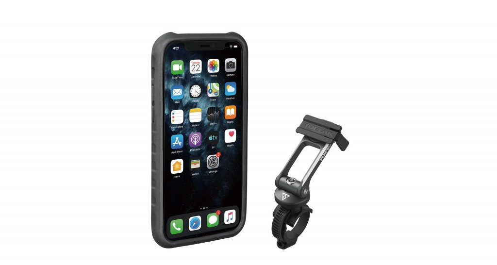 Obal na mobil TOPEAK Ridecase pro iPhone11 Pro černo/šedý