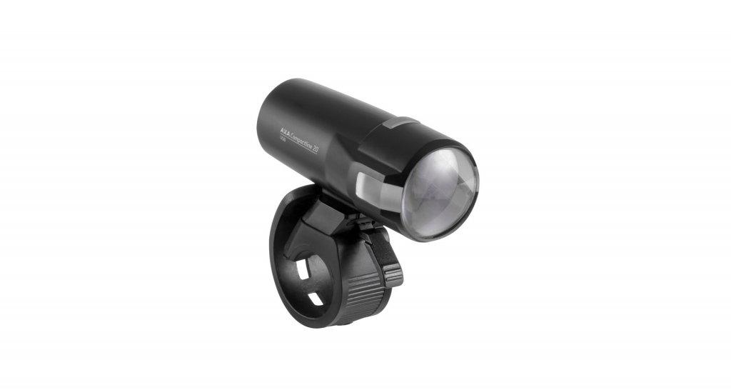 Osvětlení přední AXA Compactline 20 USB