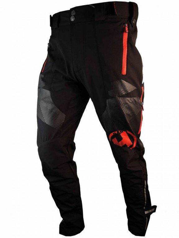 Kalhoty dlouhé unisex HAVEN RAINBRAIN LONG černo/červené