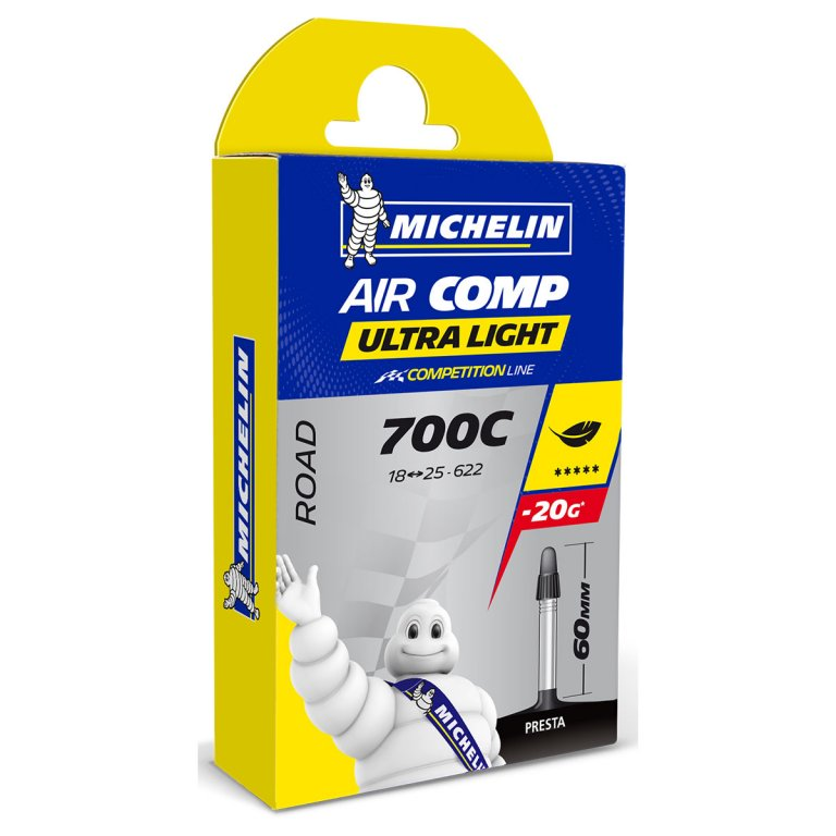 Duše MICHELIN AIR COMP ULTRALIGHT 28
