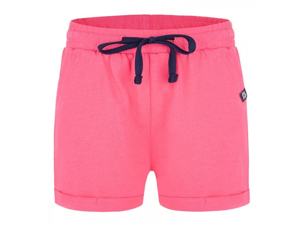 Kalhoty krátké dětské LOAP BANAE růžové