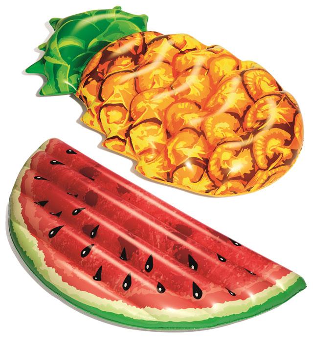 Lehátko nafukovací Bestway letní ovoce 174x96cm
