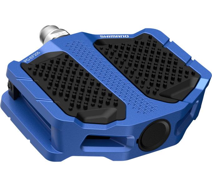 Pedály Shimano PD-EF205 modré original balení