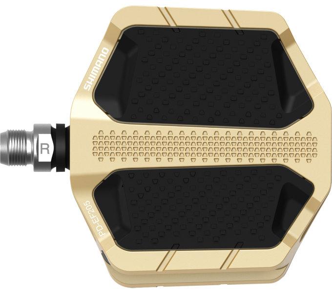 Pedály Shimano PD-EF205 zlaté original balení