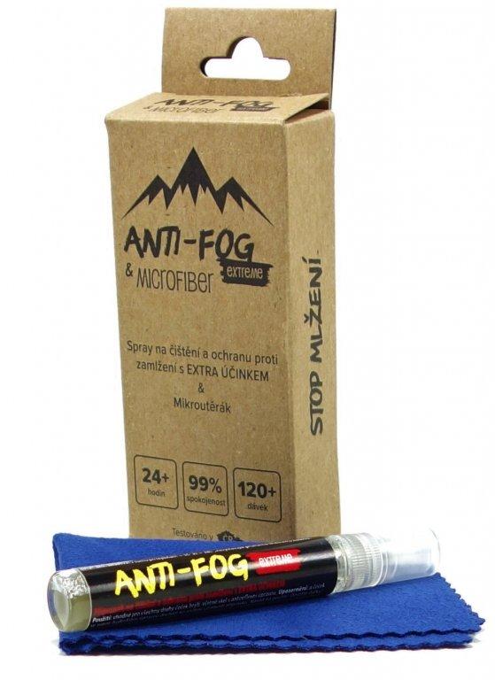 Spray na čištění brýlí Anti-Fog s ochranou proti zamlžení