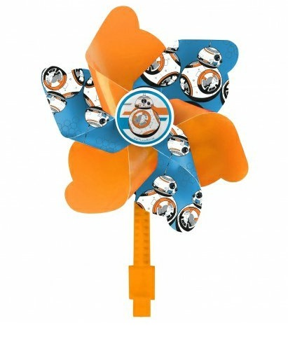 Větrník Disney STAR WARS oranžový