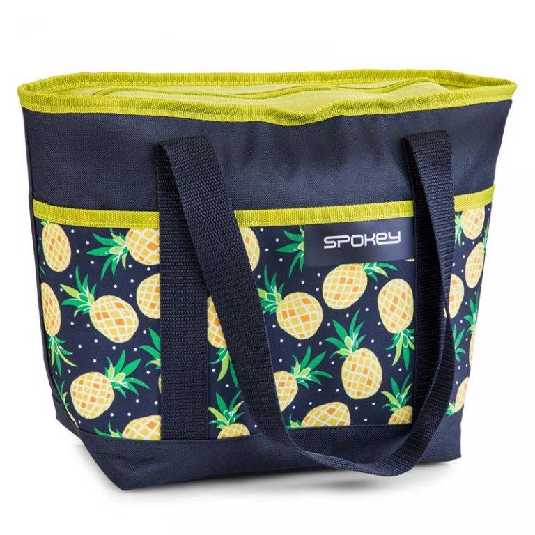 Taška plážová Spokey ACAPULCO termo malá vzor ananas