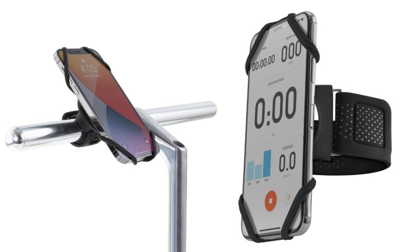 Držák na mobil BONE Bike+Run Tie Connect Kit 4, 7-7, 2