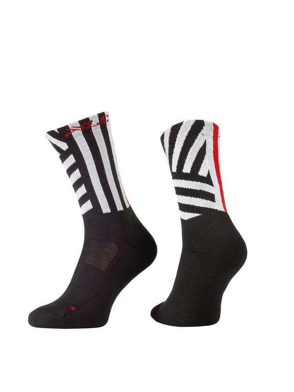 Ponožky XLC All MTN CS-L02 černo bílé