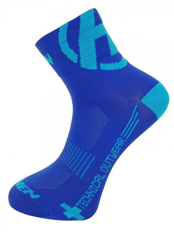 Ponožky HAVEN LITE Silver NEO modré 2páry