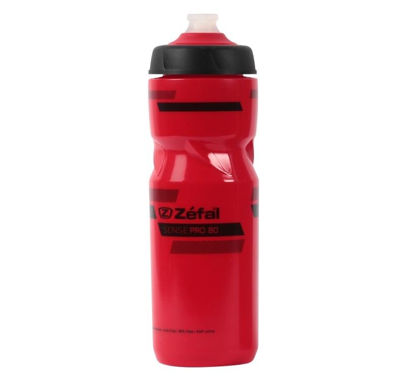 Lahev ZEFAL SENSE Pro 80 červená/černá