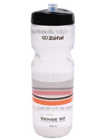 Lahev ZEFAL Sense M80 NEW transparentní/černá/oranžová