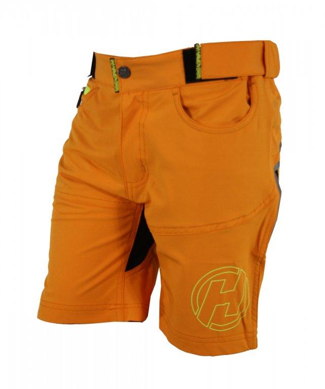 Kalhoty krátké dětské HAVEN TeenAge oranžové