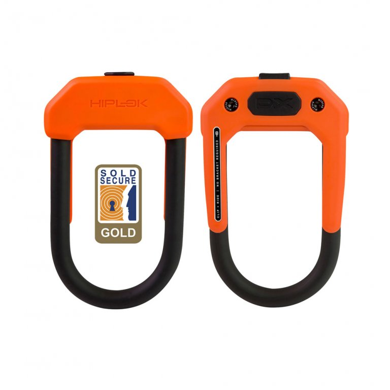 Zámek Hiplok DX oranžový