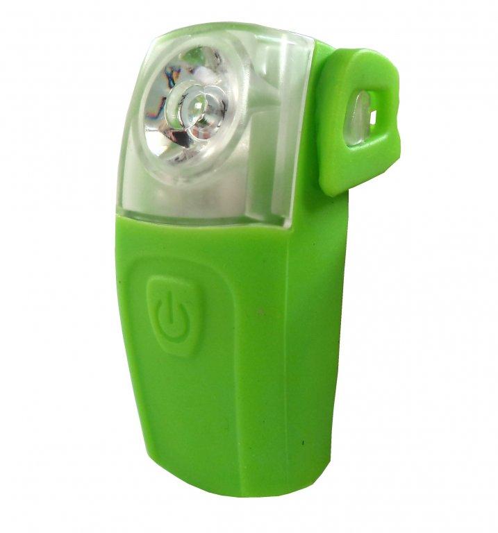 Blikačka zadní 4RACE LR03 3+0, 5W LED zelené