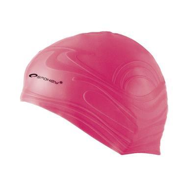 čepice plavecká Spokey SHOAL růžová