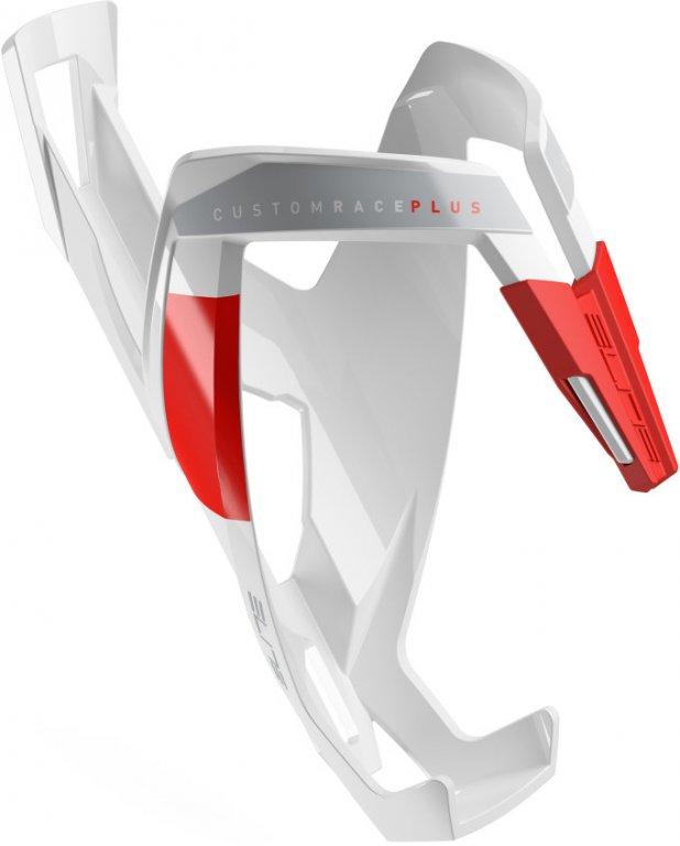 košík ELITE Custom Race Plus, bílo-červený graphic