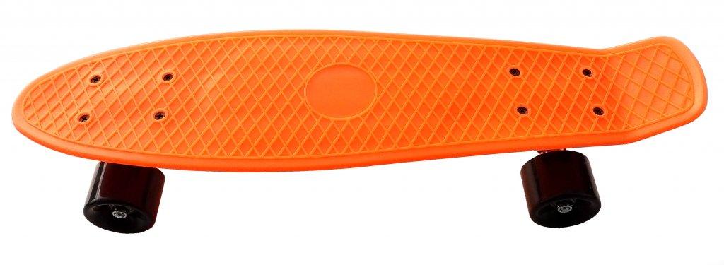 skateboard plastic oranžový