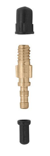ventilek velo V-314 mosazný s gumičkou