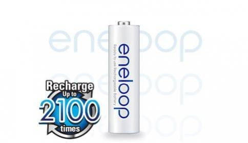 baterie AA Panasonic Eneloop NiMH 2100 cyklů