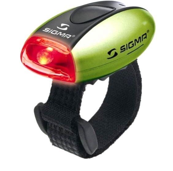 blikačka zadní SIGMA MICRO R zelená 2f