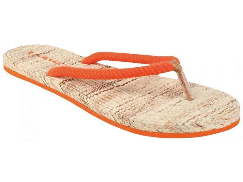 boty dámské LOAP SUN žabky oranžové, 36