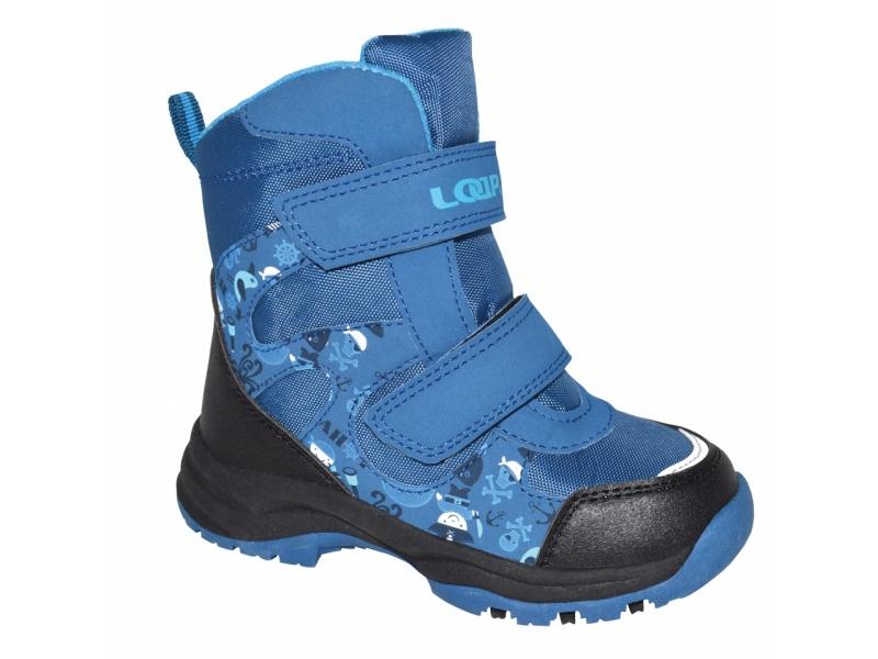 Boty dětské LOAP CHOSEE zimní modré