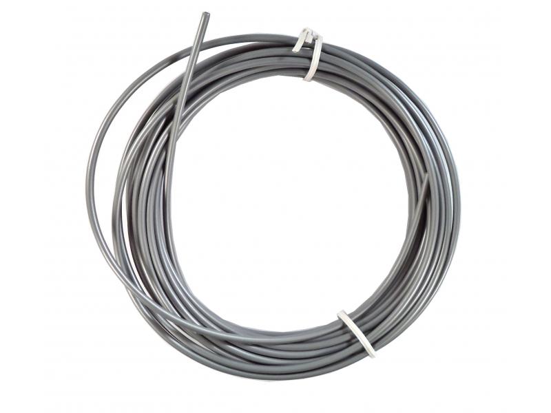 bowden brzdový 5mm 2P 10m stříbrný role