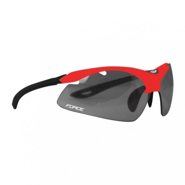 brýle FORCE DUKE červeno/černé