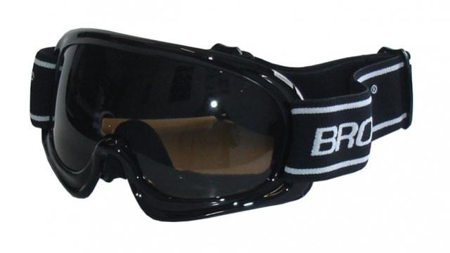 brýle lyžařské BROTHER dětské B150 černé