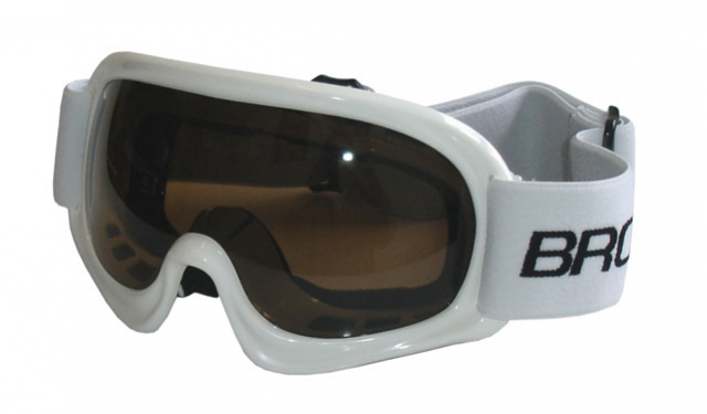 brýle lyžařské BROTHER dětské B150 bílé