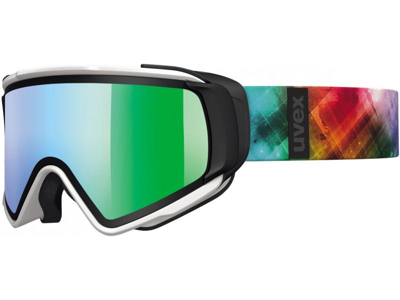brýle lyžařské UVEX JAKK TAKE OFF bílo/barevné