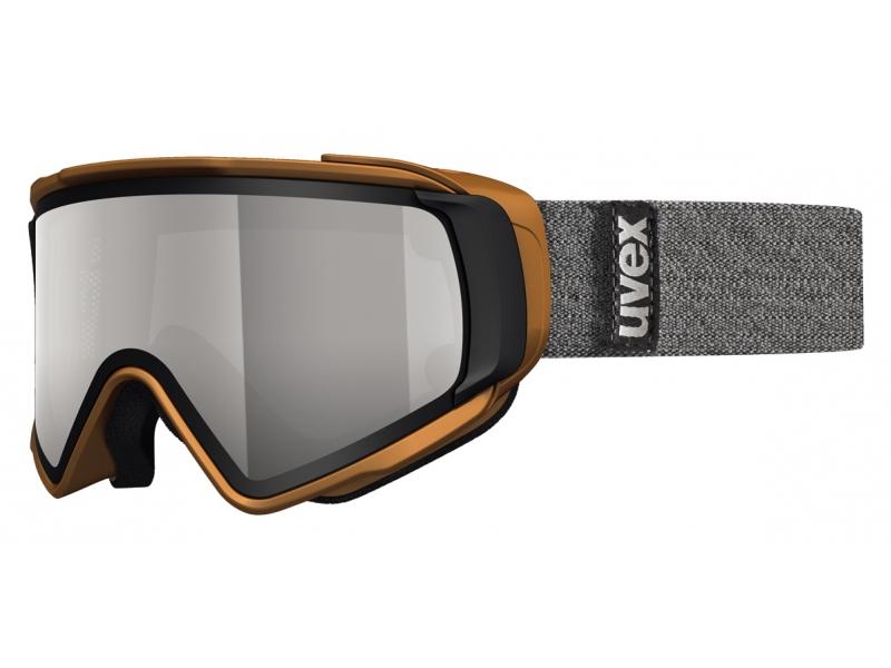 brýle lyžařské UVEX JAKK TAKE OFF POLA šedé
