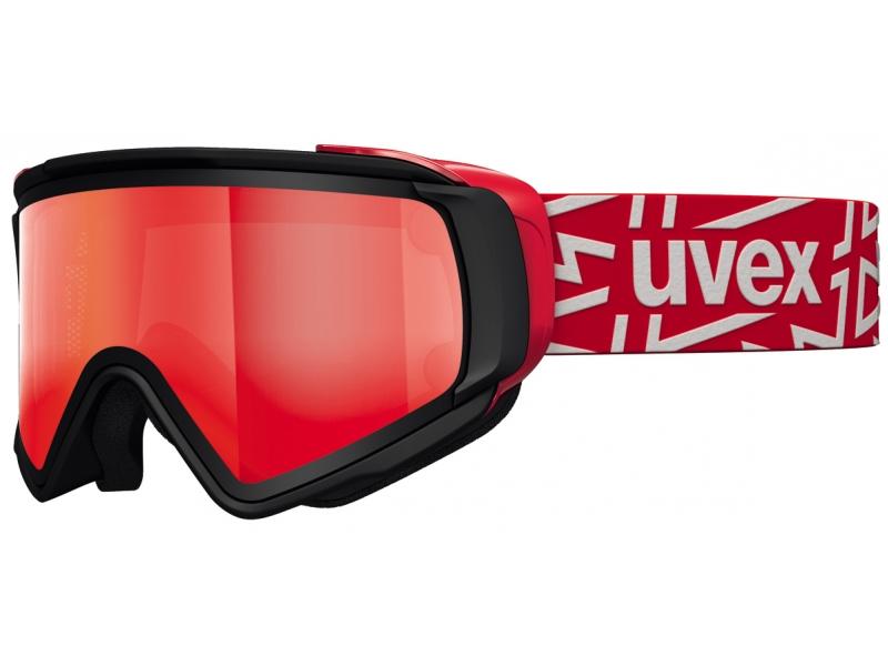 brýle lyžařské UVEX JAKK TAKE OFF POLA červené