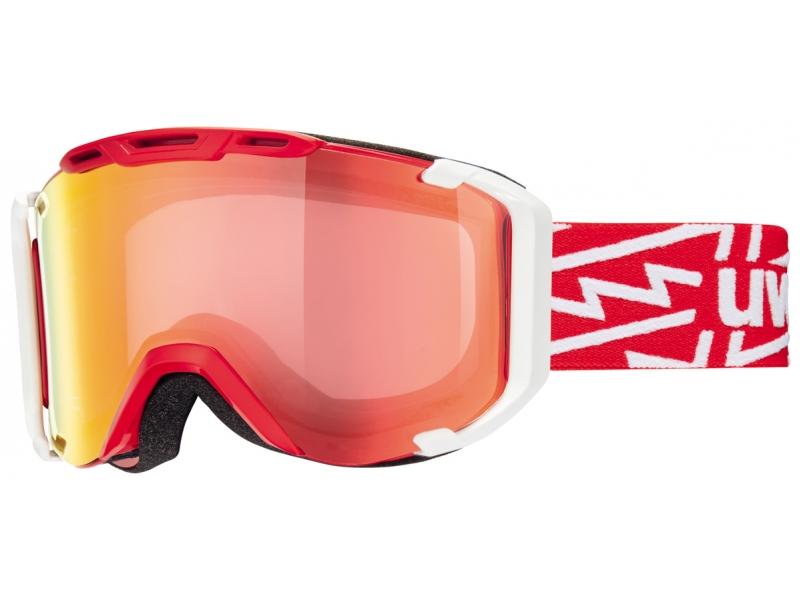 brýle lyžařské UVEX SNOWSTRIKE VM červené