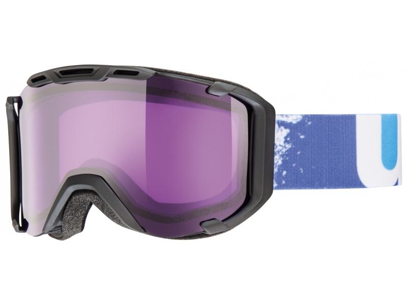 brýle lyžařské UVEX SNOWSTRIKE černé