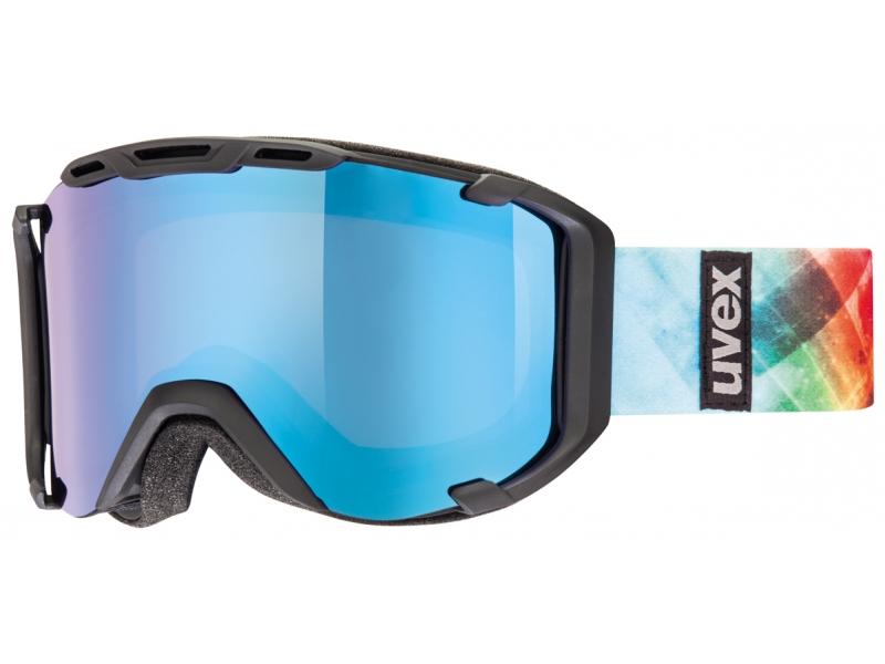 brýle lyžařské UVEX SNOWSTRIKE PM černo/barevné