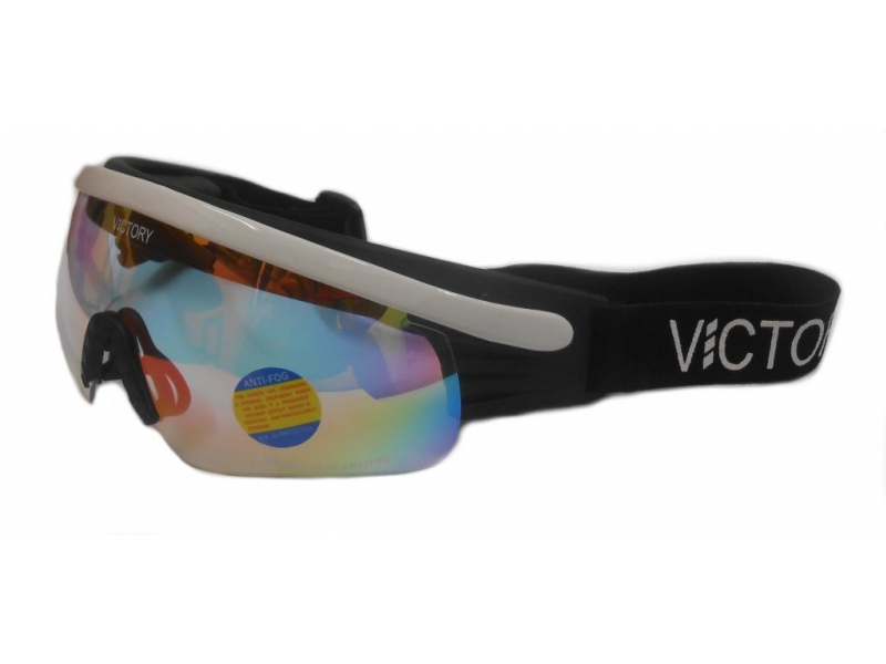 brýle lyžařské Victory 604A bílé