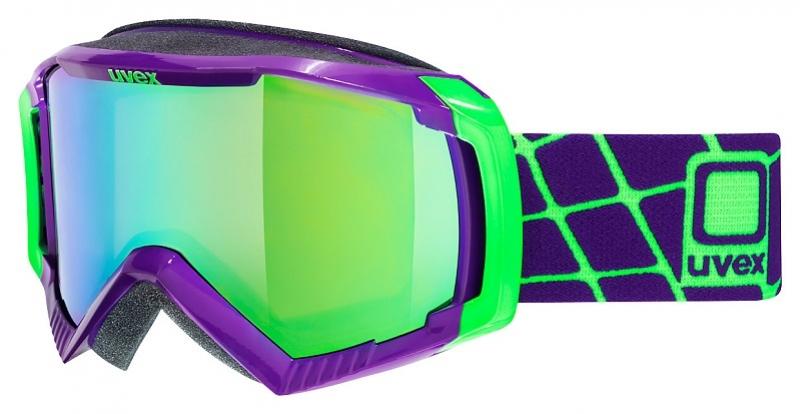 brýle lyžařské UVEX G.GL 100 tmavě fialové