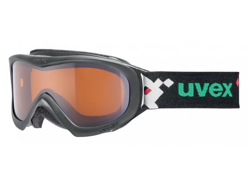 brýle lyžařské UVEX WIZZARD DL černé/pacman